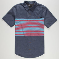 O'neill Reynolds Mens Shirt Blue  In Sizes