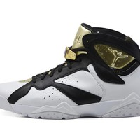 Best Deal Online Air Jordan 7 Retro Championship Pack 'Champagne'