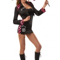 BLACK FUCHSIA GIRL RACE CAR DRIVER @ Amiclubwear costume Online Store,sexy costume,women's costume,christmas costumes,adult christmas costumes,santa claus costumes,fancy dress costumes,halloween costumes,halloween costume ideas,pirate costume,dance costu