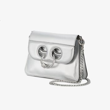 JW Anderson Mini Silver Pierce Bag