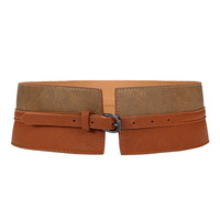 Color Block Waist Belt