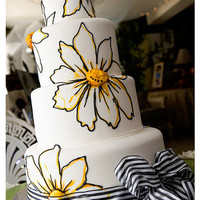 Yellow Daisy - Something Sweet Cake Studio