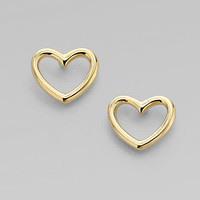 Marc by Marc Jacobs - Heart Shaped Earrings