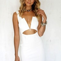 Buy Bonny Dress - White Online by SABO SKIRT