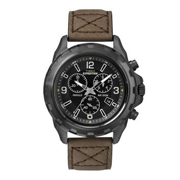 Genuine Timex Expedition Rugged T49986 Gents Watch Chronograph