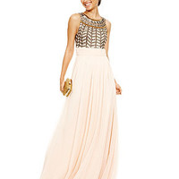 Prom 2014 Vintage Muse Beaded Gown Look