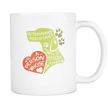 Vet Coffee Mug - Veterinary Assistant Bank Account