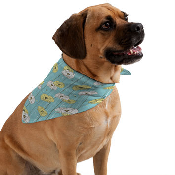 Heather Dutton Blue Poppy Field Pet Bandana