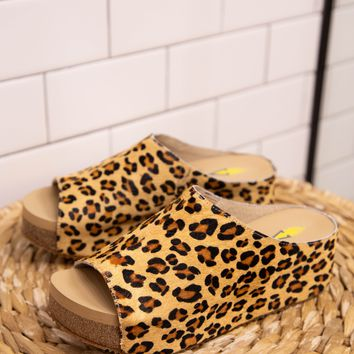 Verena Slide Wedge, Leopard | Very Volatile