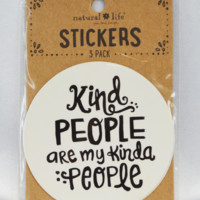 kind people stickers