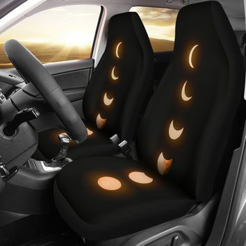 Phases of Moon Car Seat Covers