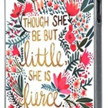 Floral Shabby Chic shakespeare quotes though she be but little she is fierce 214 Design iphone 5 5S Fashion Trend Case Back Cover Hard plastic / Thin Metal