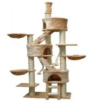 """HUGE"" Cat Tree Toy House Bed Condo Furniture Post FC01"