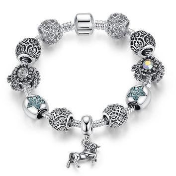 After The Rain Artisan Loaded EU Charm Bracelet Fairy Tale Beads w/ Optional Authentic