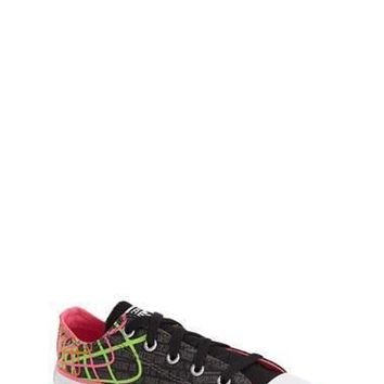 girl s converse chuck taylor all star ox sneaker