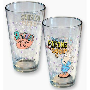 Rocko's Modern Life Pint Glass