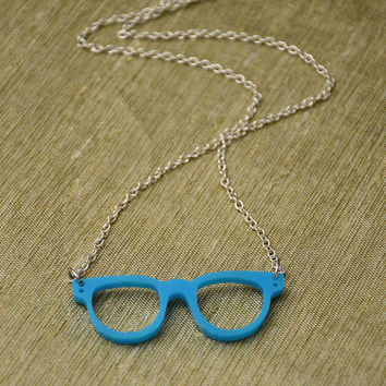 Geekly Chic - Geek Glasses Necklace