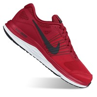 Nike Dual Fusion X Grade School Boys' Running Shoes (Red)