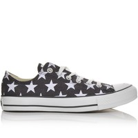Women's Converse Chuck Taylor All Star Oxford Star Black/White | Shoe Carnival