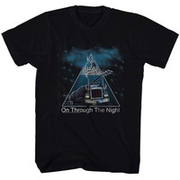 DEF LEPPARD-ON THROUGH THE NIGHT-BLACK ADULT S/S TSHIRT