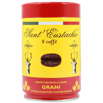 Italian Wood Roasted Coffee Beans by Sant Eustachio 8.8 oz