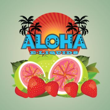 Strawberries and Guava - Aloha E Liquids