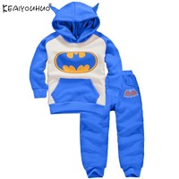 KEAIYOUHUO 2018 Baby Boy Clothes Sets Batman Halloween Baby Outfit Suit Cartoon Newborn Baby Girl Clothes Christmas Boy Clothing