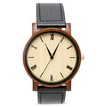 Groomsmen Watches  // Set of 4 // Groomsmen Gifts // All Wood Watches Free Engraving and Shipping