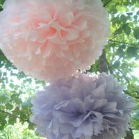 Tissue paper poms #Wedding decorations #Baby shower #Wedding anniversary #Bridal party #Party decorations * Set of 20