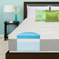 Slumber Solutions Choose Your Comfort 14-inch King-size Gel Memory Foam Mattress | Overstock.com Shopping - The Best Deals on Mattresses