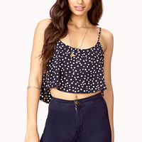 Darling Polka Dot Crop Top