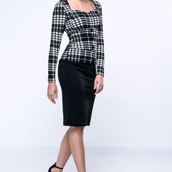 Streetstyle  Casual Sweet Heart Plaid Bodycon Dress