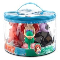 disney parks junior ariel ursula nemo sebastian bath toy set new with bag