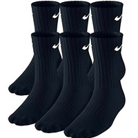 Boys' Nike Performance Cushion Crew Sock (6 Pair)