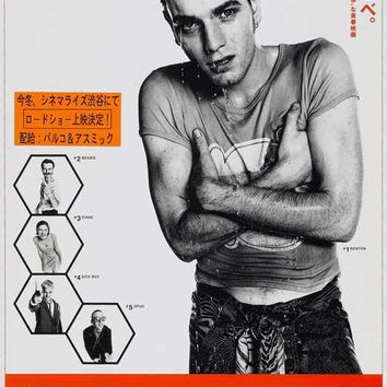 Trainspotting (Japanese) 11x17 Movie Poster (1996)