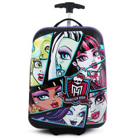 Monster High Hardshell Rolling Luggage Case [Ghouls]
