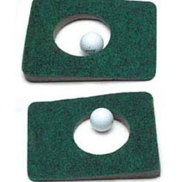 Putt-A-Bout Non-Skid Deluxe 2 Putting Cups by Charter