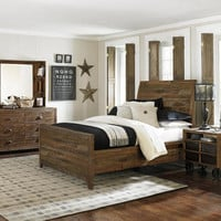 River Ridge Twin Panel Bed