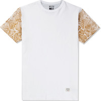 White/Gold Mr. Metallic Snake T-Shirt