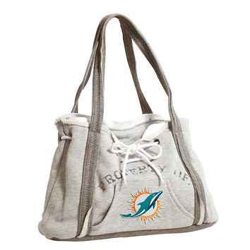 Miami Dolphins NFL Property Of Hoodie Purse