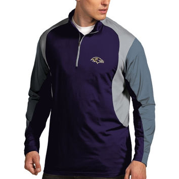 Baltimore Ravens Antigua Beta 1/4 Zip Pullover Jacket – Purple
