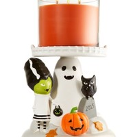 3-Wick Candle Pedestal Halloween
