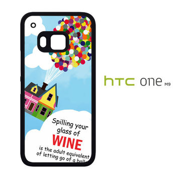 Up And Go Balloon House Y2715 HTC One M9  Case