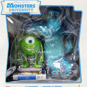 Hot Toys Mike & Sulley Monsters University MMS Vinyl Collectible Set