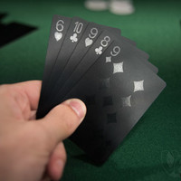 Black Playing Cards: Deck of Super Black Cards