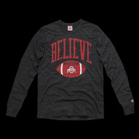 Buckeyes Believe Long Sleeve Tee