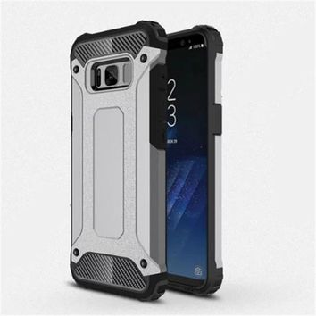 For Samsung Galaxy S5 S6 EDGE Plus S7 edge S8 S9 Hybrid Armor TPU Case For A3 A5 A7 A9 J1 J2 J5 J7 2016 Rugged Cover Note 4 5 8
