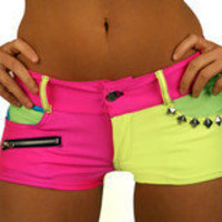 Party Rock Clothing — Neon Hot Shorts