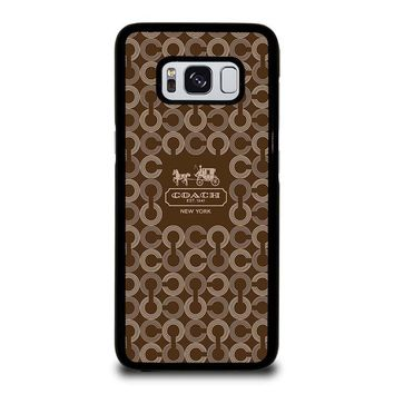 COACH NEW YORK 1941 Samsung Galaxy S8 Case Cover
