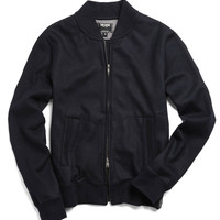 Midnight Varsity Jacket